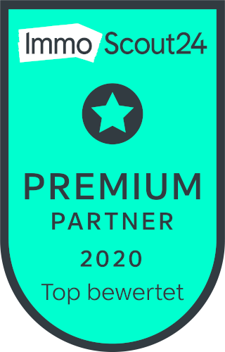 ImmoScout24 Premiumpartner 2020 - Top bewertet
